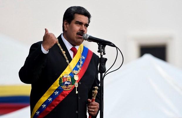FANB khang dinh trung thanh voi Tong thong Venezuela Nicolas Maduro hinh anh 1