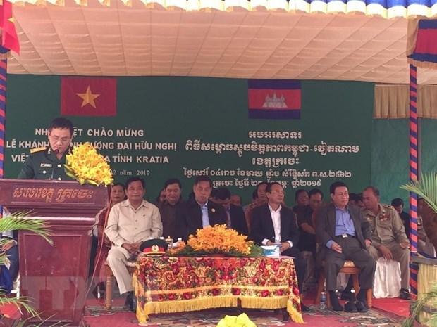 Khanh thanh Dai Huu nghi Viet Nam-Campuchia tai tinh Kratie hinh anh 1
