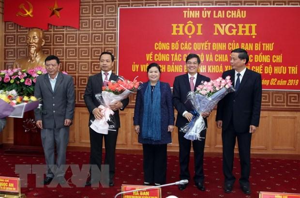 Ong Tran Tien Dung giu chuc Pho Bi thu Tinh uy Lai Chau hinh anh 1
