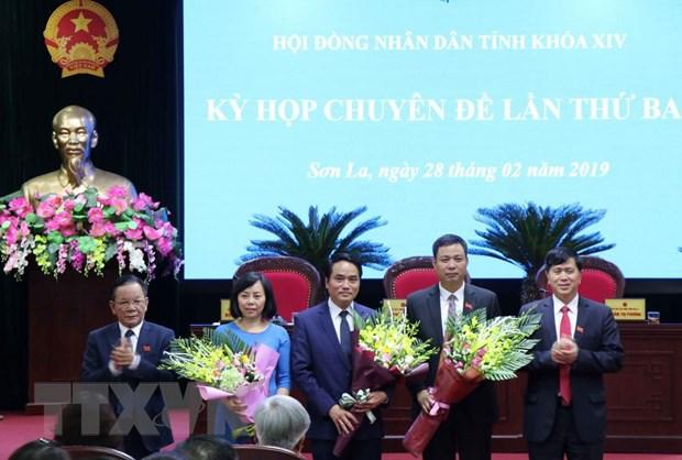 Ong Le Hong Minh duoc bau lam Pho Chu tich UBND tinh Son La hinh anh 1