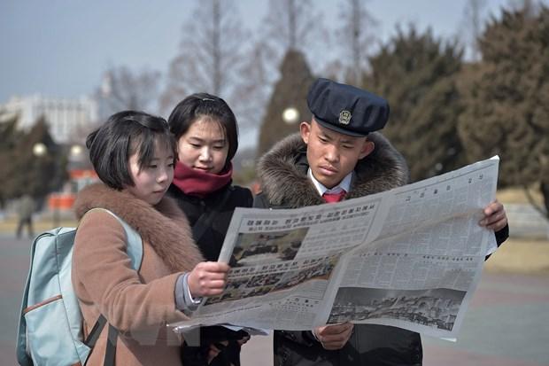 Bao Trieu Tien dua tin day dac ve chuyen di cua ong Kim Jong-un hinh anh 1