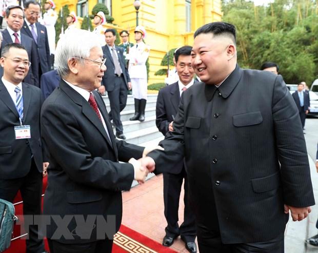 Trieu Tien muon cung co quan he huu nghi truyen thong voi Viet Nam hinh anh 1