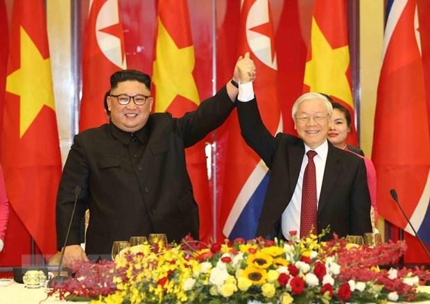 Chu tich Kim Jong-un: Chuyen tham Viet Nam la chuong trinh trong dai hinh anh 1
