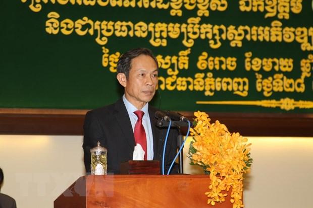 Campuchia hoan nghenh du an cua cac nha dau tu Viet Nam hinh anh 1