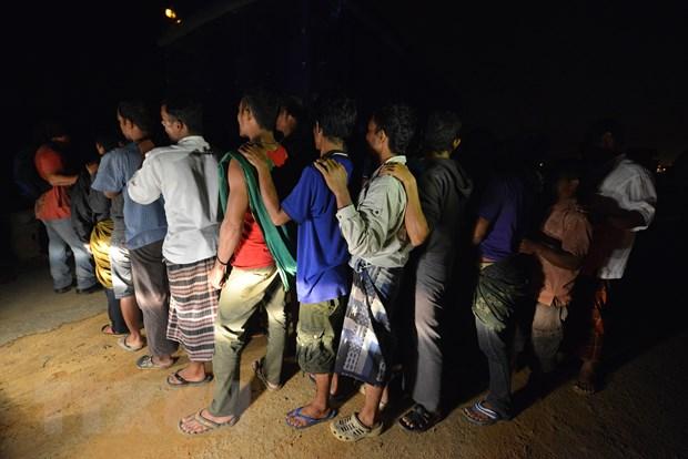 Malaysia truy quet, bat giu gan 1.500 nguoi nhap cu bat hop phap hinh anh 1