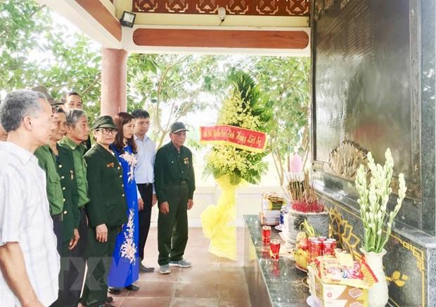 Khoi cong xay dung Khu tuong niem Thanh nien xung phong C283 hinh anh 1