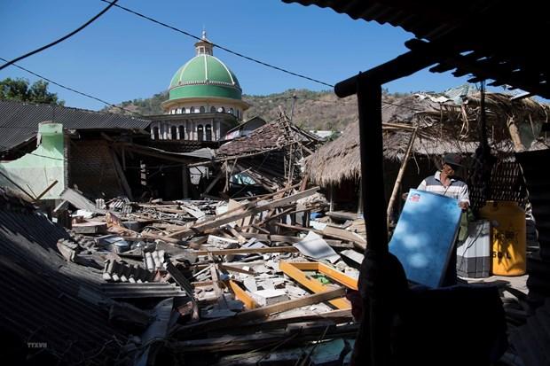Indonesia: Cac nan nhan dong dat o Lombok can it nhat 30.000 ngoi nha hinh anh 1