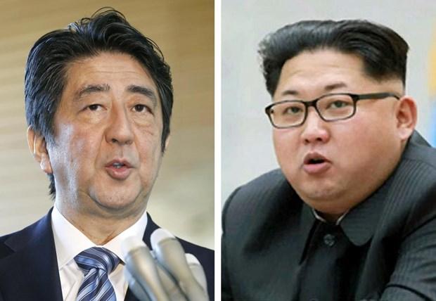 Thu tuong Nhat Ban san sang gap Chu tich Trieu Tien Kim Jong-un hinh anh 1