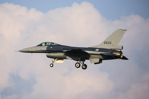 Dai Loan mua them hang chuc may bay chien dau F-16V cua My hinh anh 1