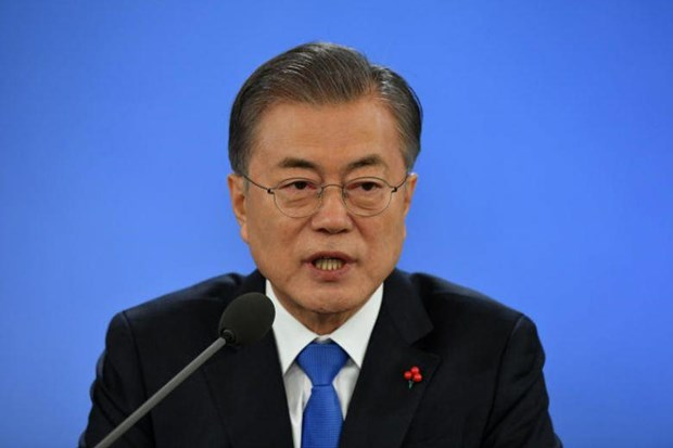 Tong thong Han Quoc Moon Jae-in len duong tham Malaysia hinh anh 1