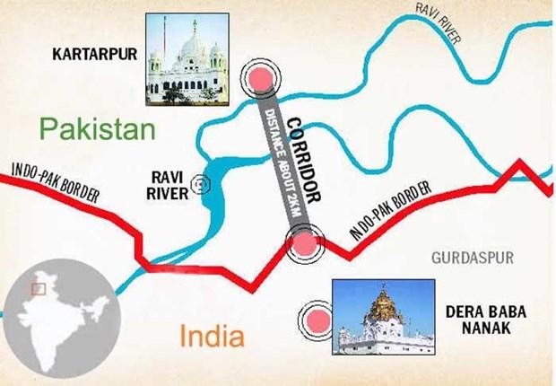 An Do-Pakistan to chuc phien dam phan ve Hanh lang Kartarpur hinh anh 1