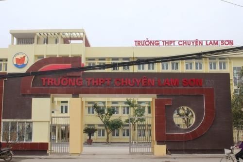 Thanh Hoa: Ket luan nhieu sai pham tai Truong THPT Chuyen Lam Son hinh anh 1