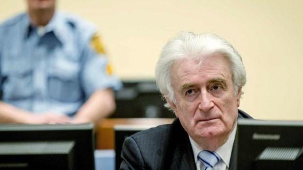 ICTY ra phan quyet cuoi cung doi voi cuu lanh dao Serbia Karadzic hinh anh 1