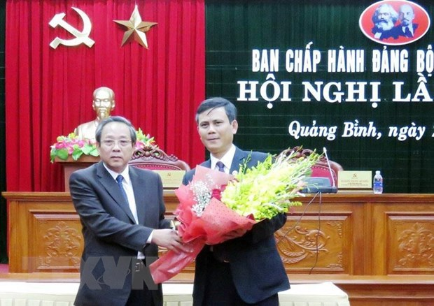 Ong Tran Thang duoc bau lam Pho Bi thu Thuong truc Tinh uy Quang Binh hinh anh 1