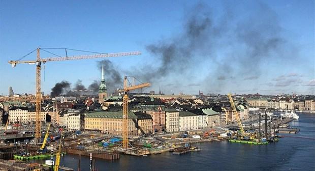 Thuy Dien: No lon tai thu do Stockholm, it nhat 5 nguoi bi thuong hinh anh 1