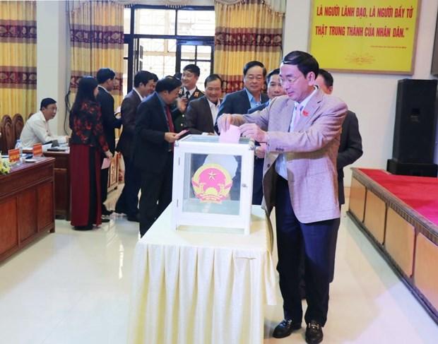 Ong Duong Van Luong lam Pho Chu tich Uy ban Nhan dan tinh Thai Nguyen hinh anh 1