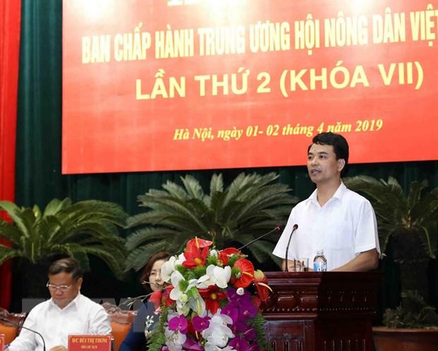Hoi nghi Ban chap hanh Trung uong Hoi Nong dan Viet Nam lan thu 2 hinh anh 2