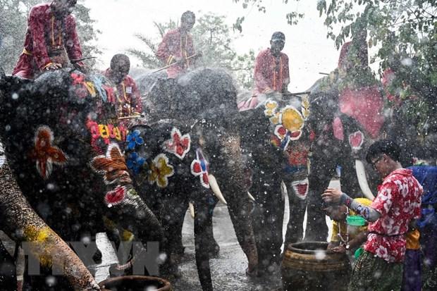 Thu tuong Thai Lan keu goi nguoi dan doan ket nhan dip Songkran hinh anh 1