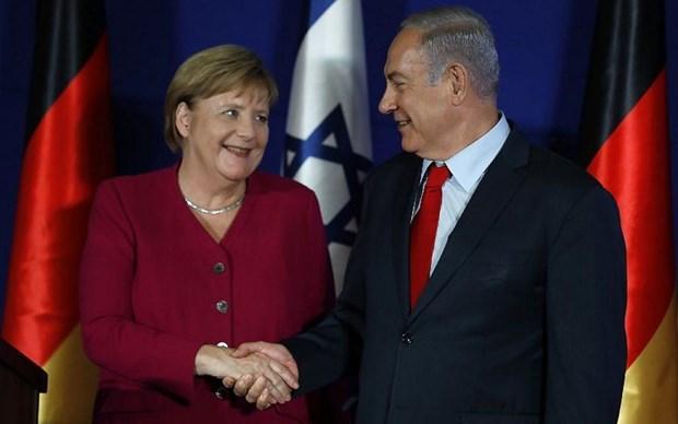 Duc keu goi Israel va Palestine tuan thu giai phap hai nha nuoc hinh anh 1