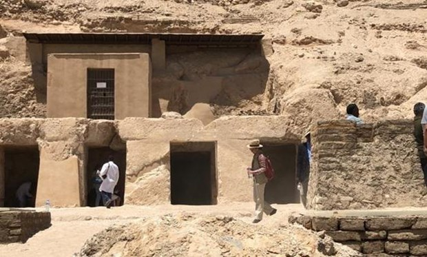 Ai Cap phat hien mot khu mo cat da 3.500 nam tuoi tai Luxor hinh anh 1