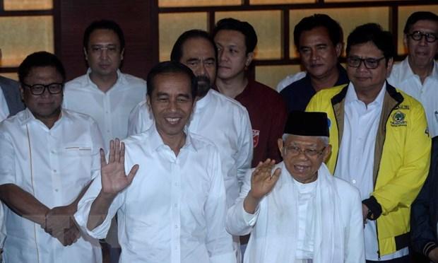 Tong Bi thu, Chu tich nuoc gui dien chuc mung Tong thong Indonesia hinh anh 1