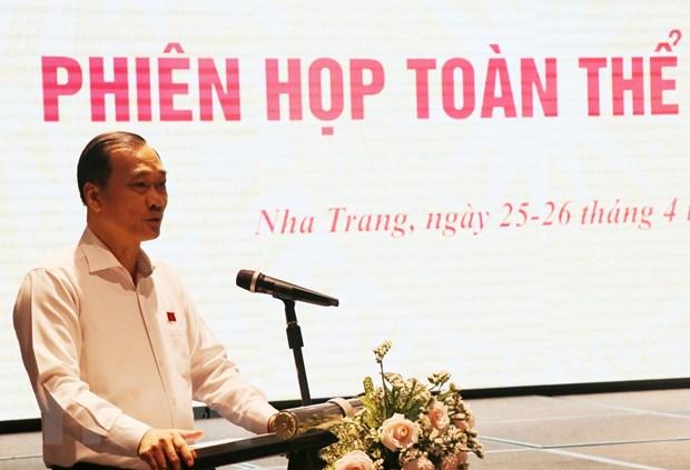 Phien hop toan the lan thu 9 Uy ban Kinh te cua Quoc hoi hinh anh 1