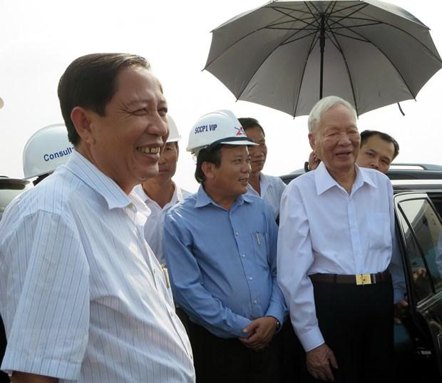 Nho lan Dai tuong Le Duc Anh ve tham Kien Giang dip Xuan Giap Ngo hinh anh 1