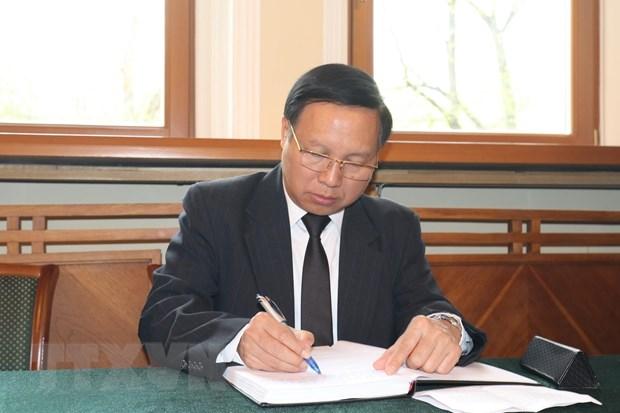 Le vieng dong chi Le Duc Anh tai Nga, Singapore va New Zealand hinh anh 1