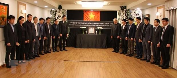 Le vieng dong chi Le Duc Anh tai Hong Kong, Malaysia, Han Quoc hinh anh 3