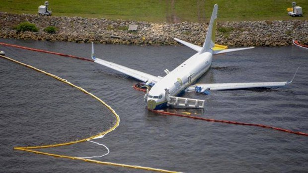 My xac dinh nguyen nhan khien may bay Boeing 737 lao xuong song hinh anh 1