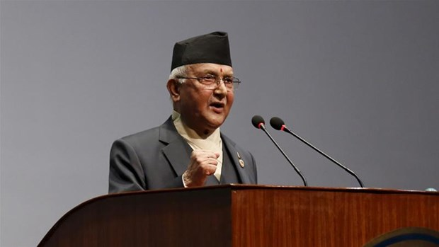 Thu tuong Nepal cung phu nhan se tham Viet Nam va du Dai le Vesak hinh anh 1