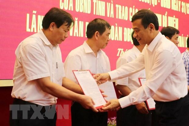 Thai Binh trien khai hop nhat ba van phong, bo nhiem lanh dao hinh anh 1