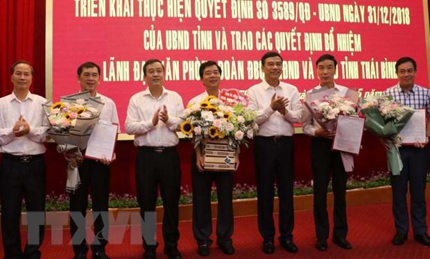 Thai Binh trien khai hop nhat ba van phong, bo nhiem lanh dao hinh anh 2