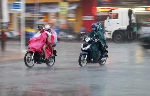Trung Bo va Tay Nguyen co mua lon dien rong, nguy co loc, set hinh anh 1