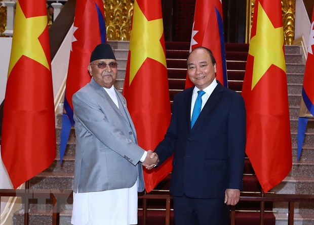 Tuyen bo chung Viet Nam-Nepal, ghi nhan dong gop to lon cua Phat giao hinh anh 1