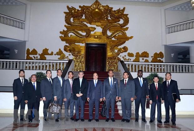 Thu tuong Nguyen Xuan Phuc tiep Bo truong Ngoai giao Malaysia hinh anh 1