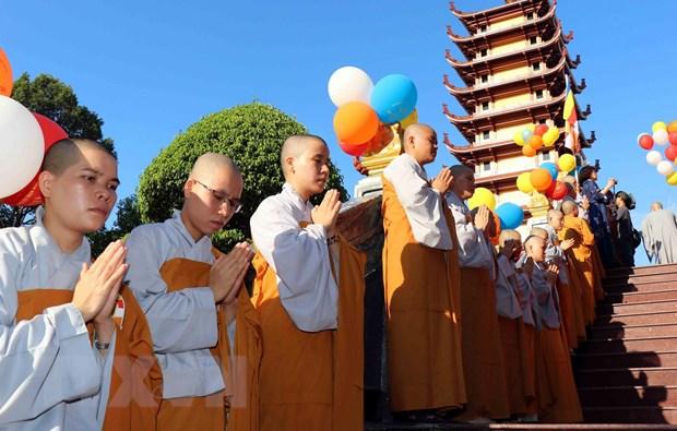 To chuc Dai le Phat dan Phat lich 2563 tai Thanh pho Ho Chi Minh hinh anh 1