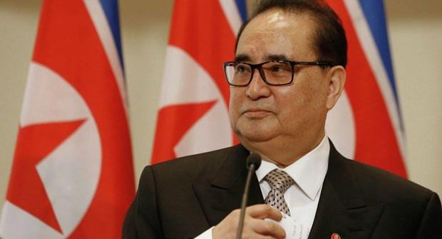 Pho Chu tich dang Lao dong Trieu Tien Ri Su-yong tham Cuba hinh anh 1