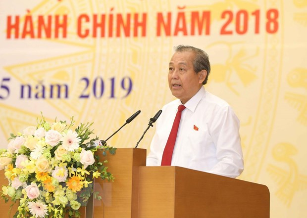 Quang Ninh va Ngan hang Nha nuoc dan dau xep hang cai cach hanh chinh hinh anh 1