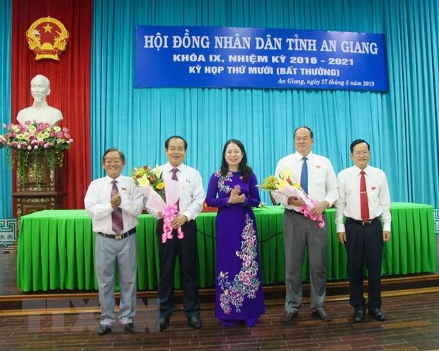 Ong Nguyen Thanh Binh duoc bau lam Chu tich UBND tinh An Giang hinh anh 1