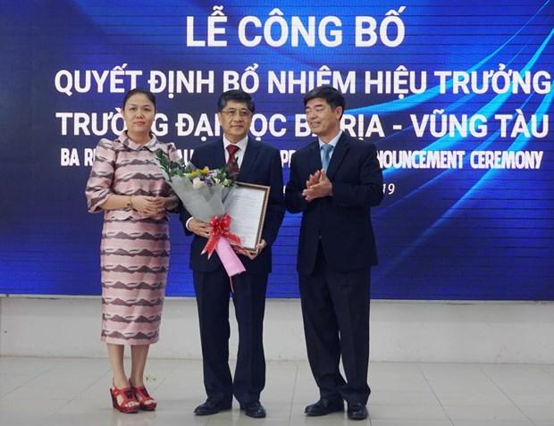 Truong Dai hoc Ba Ria-Vung Tau chinh thuc co hieu truong moi hinh anh 1