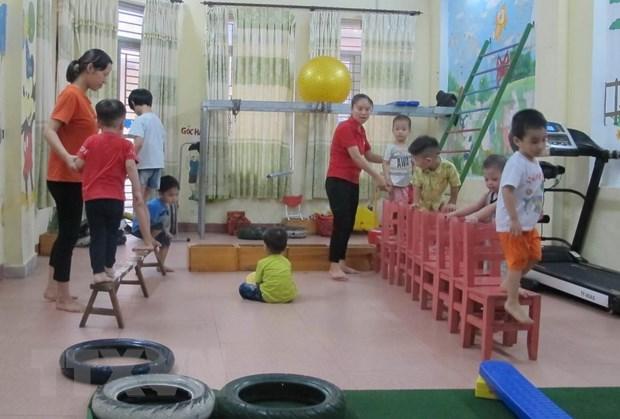 Noi 'chap canh' tuong lai cho tre tu ky o thanh pho Ninh Binh hinh anh 1