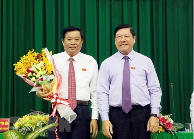Ong Bui Van Nghiem duoc bau lam Chu tich HDND tinh Vinh Long hinh anh 1
