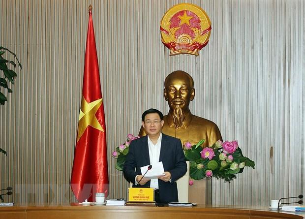 Pho Thu tuong Vuong Dinh Hue: Nang tam hoi nhap kinh te quoc te hinh anh 1