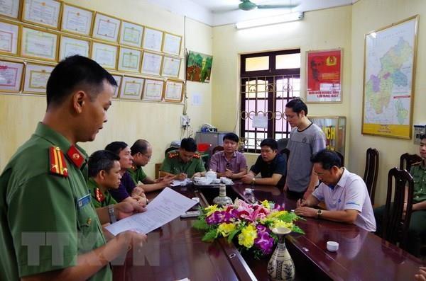 Sai pham trong Ky thi THPT tai Ha Giang: De nghi truy to 5 bi can hinh anh 1
