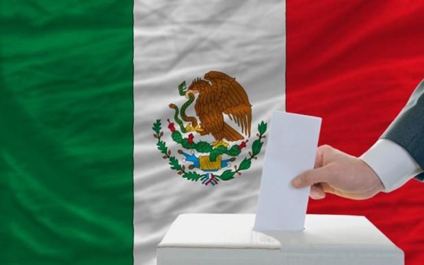 Bau cu dia phuong o Mexico: Dang Morena cam quyen gianh thang loi hinh anh 1