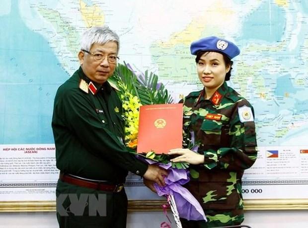 Khang dinh cam ket cua Viet Nam dong gop cho hoa binh the gioi hinh anh 2