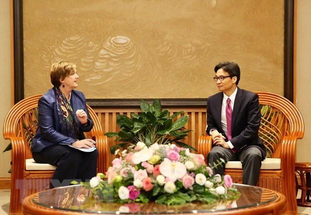 Pho Thu tuong Vu Duc Dam tiep Truong dai dien UNICEF tai Viet Nam hinh anh 1