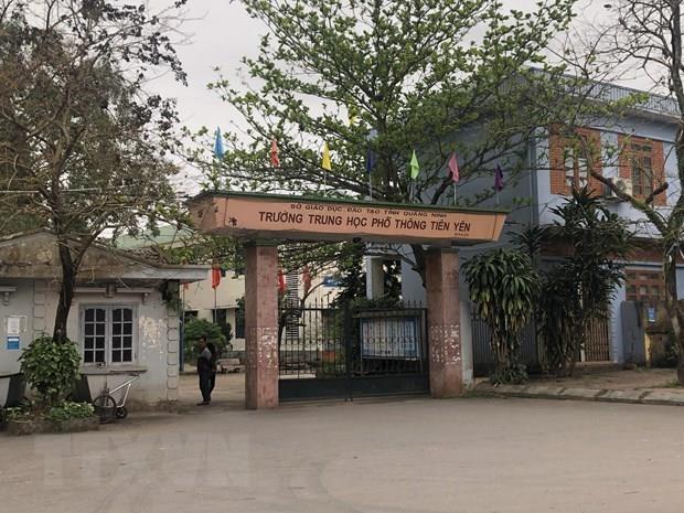 Quang Ninh xem xet lai phuong an chuyen Truong THPT Tien Yen hinh anh 1