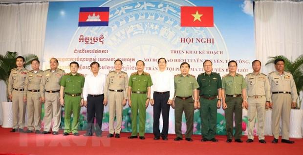Mo dot cao diem tran ap toi pham ma tuy o bien gioi Viet Nam-Campuchia hinh anh 1